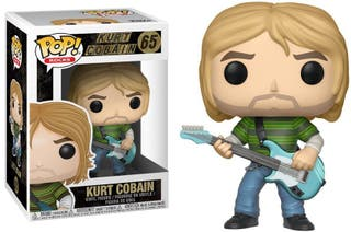 Figura Funko Pop Kurt Cobain Nirvana
