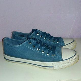 Zapatillas de lona azules T36