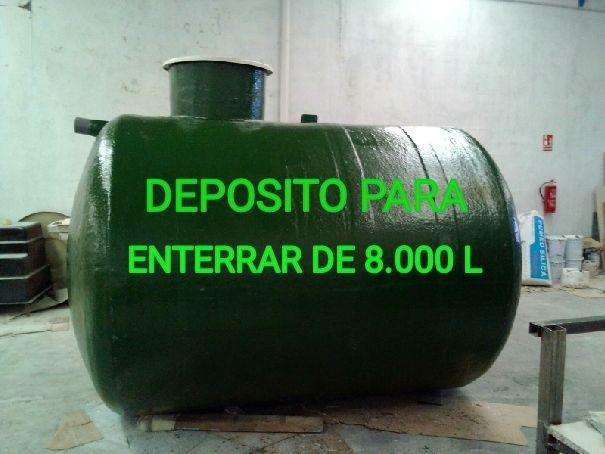DEPOSITOS ,CUBAS ,FOSAS SEPTICAS $ .
