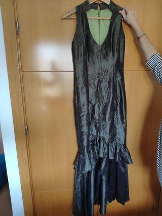 vestido de fiesta hecho a mano