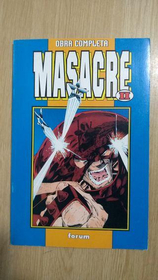 Masacre II miniserie Deadpool
