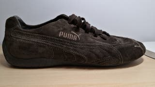 Bambas Puma marrones. Talla 43. Puestas sólo 1 vez