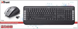 teclado ratón inalámbrico combo Trust