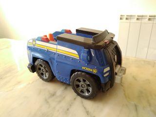 camion de la patrulla canina