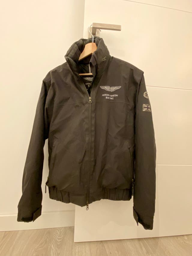 Abrigo Hackett Aston Martin Racing S