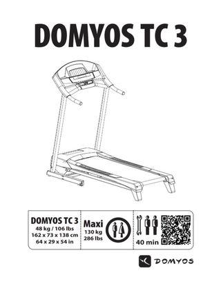 CINTA DE CORRER DOMYOS TC3