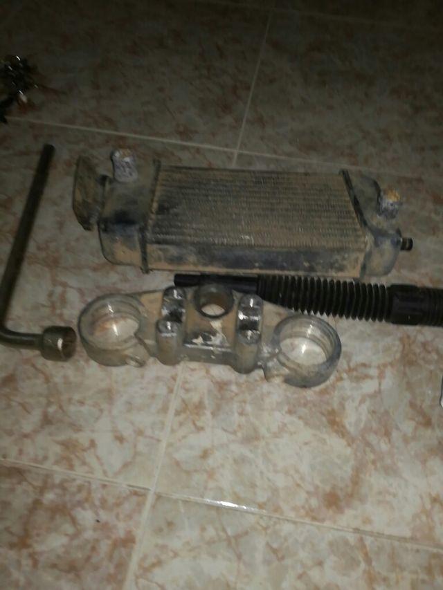 radiador de moto