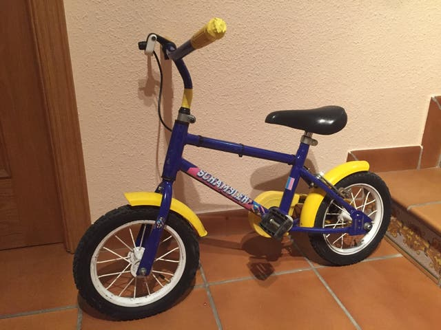 Bicicleta 14 pulgadas