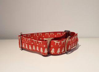 Collar de Navidad Martingale para perros