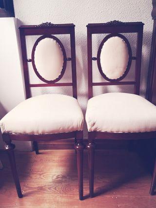 2 sillas dormitorio
