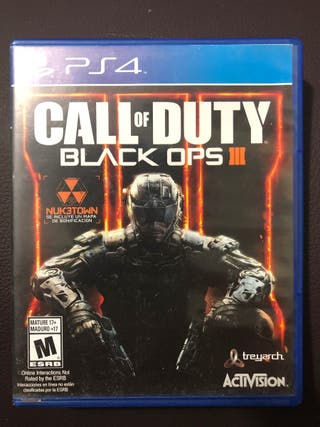 call of Dutty Black ops 3 ps4
