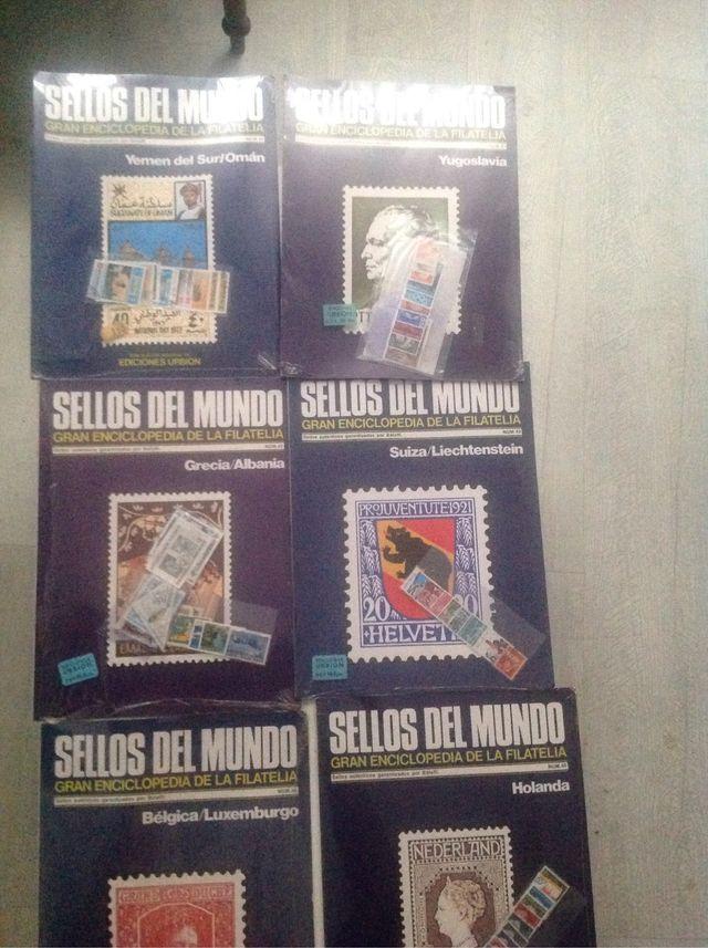 Fascículos sellos del mundo
