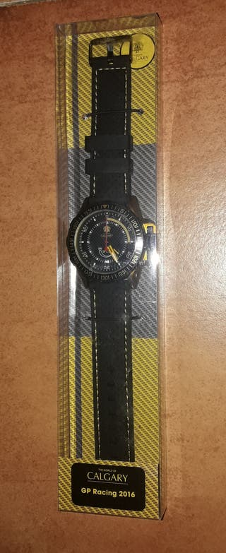 Reloj Calgary GP Racing Yellow