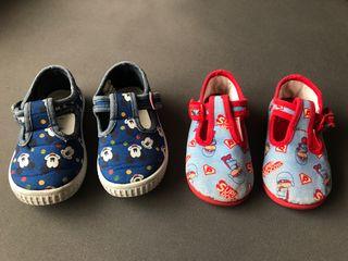 Zapatos bebé niño número 22-23 MICKEY y POCOCYO
