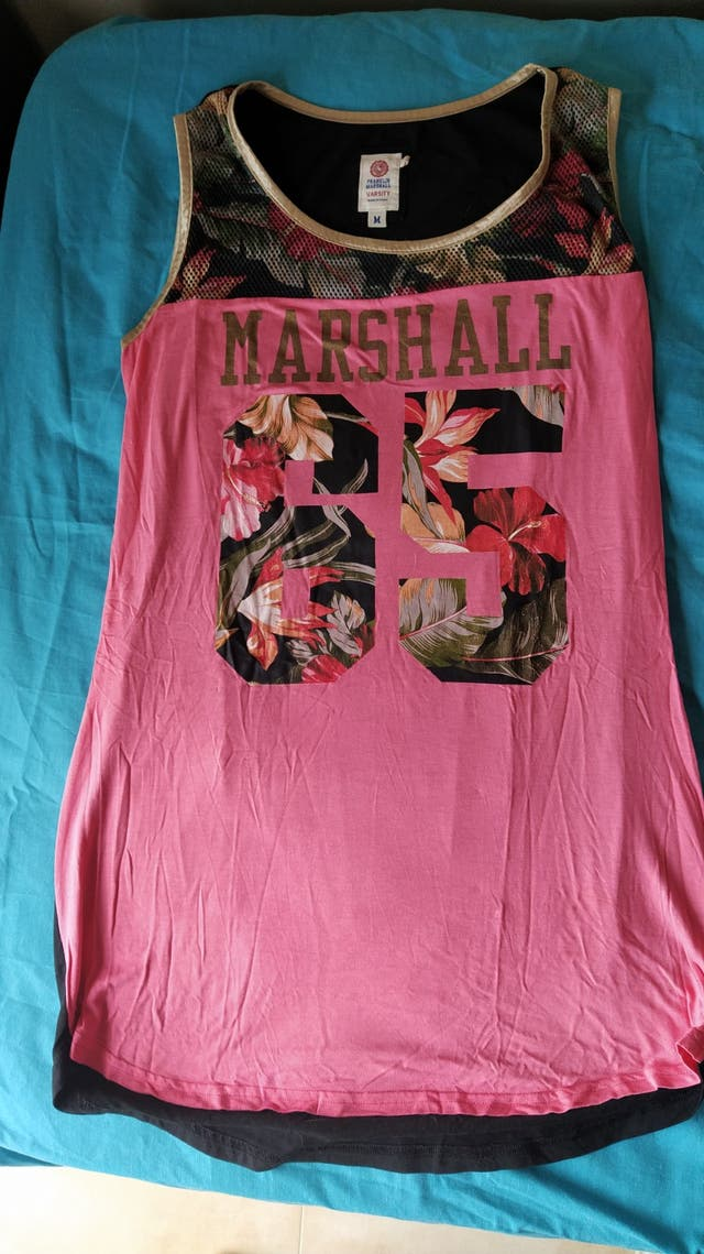Camiseta basket Franklin Marshall chica