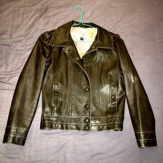 Chaqueta cuero VANS / Leather jacket / Veste cuir