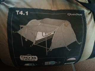tienda de campaña T4. 1 quechua