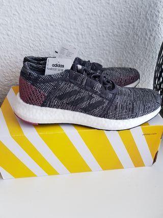 PureBoost de Adidas mano Madrid segunda Zapatillas en en CBexdWro