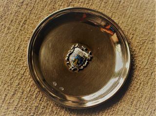 Bandejita plata escudo Lugo
