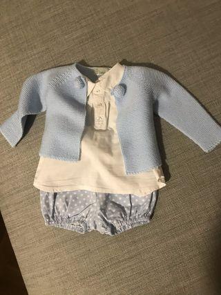 Conjunto Yoedu 3 piezas Ranita lote bebe 6 meses