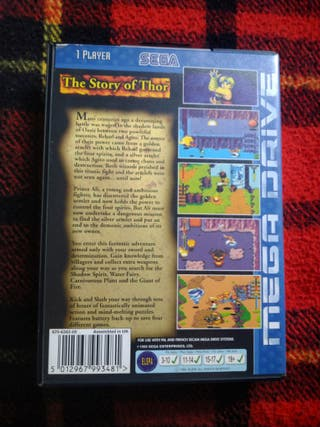 story of thor megadrive