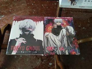 Tokyo Ghoul Blue Ray primera y segunda temporada