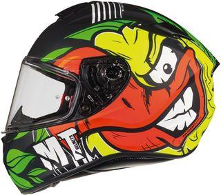 Casco moto integral Mt targo duck