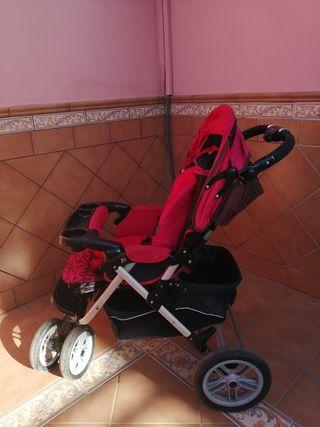Silla paseo infantil. Tres ruedas