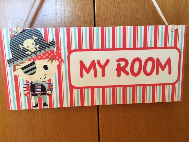 Letrero habitación infantil