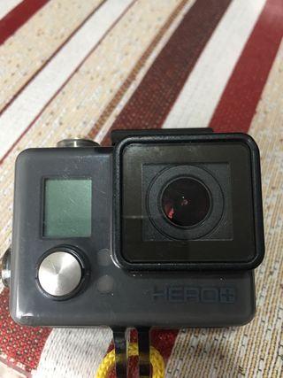 GoPro hero+ con pantalla