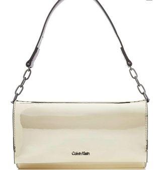 Bolso Calvin Klein original dorado