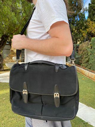 Vintage Bally Bag - Bolso Maletín Bandolera Negro