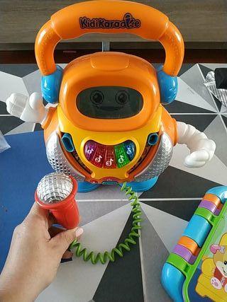 kidikaraoke juguete musica