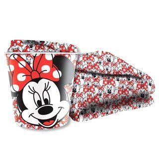 Manta + recipiente Minnie Disney