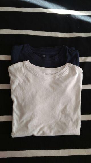 2 camisetas HM