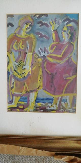 Tino Grandio pintor Gallego