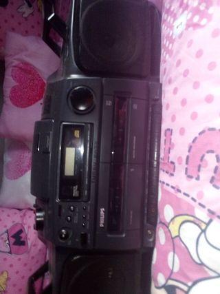 radio cassette,años 80/90