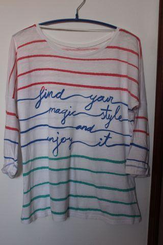 Camiseta ZARA TRF Talla S-M