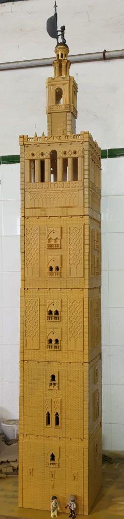 Playmobil custom catedral de Sevilla fabricada en