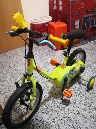 bicicleta decathlon infantil