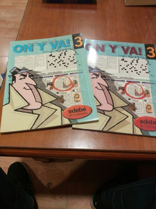 Libro + Cahier Francés ON Y VA!