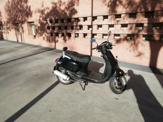 scooter MTR Gomera