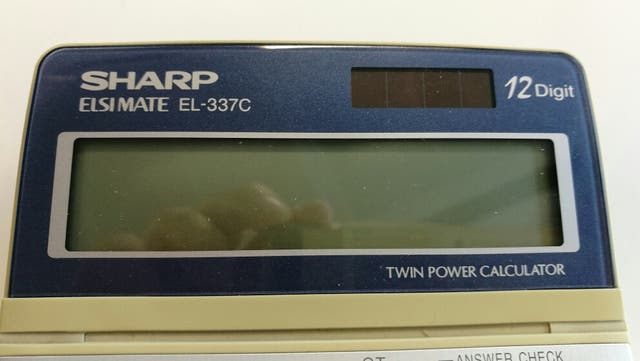 Calculadora SHARP EL-337C