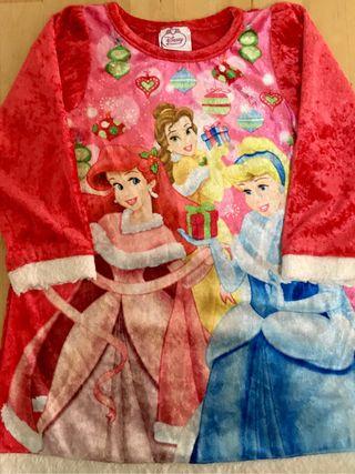 Vestido Princesas Disney Navidad