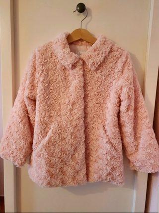 Abrigo rosa de Mayoral