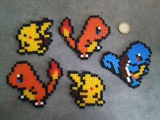 Figuras Hama beads Pokemon