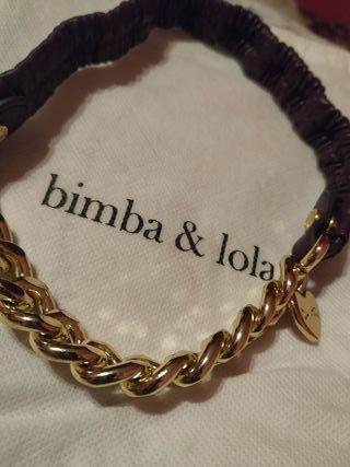 Collar cadena dorada BIMBA Y LOLA. NUEVO!!