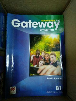 pack libro + workbook de inglés Gateway B1