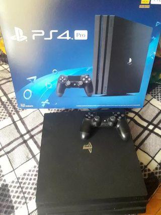 PS4 pro con muchos juegos