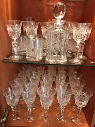 Cristalería cristal de bohemia